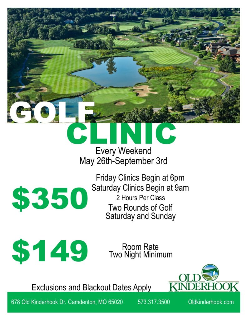 2017 Old Kinderhook Golf Clinics